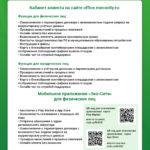 Инфографика онлайн возможности эко-сити